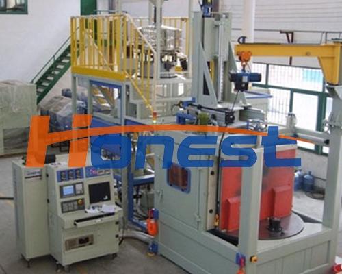 CNC 数控2分度齿轮喷丸机械设备