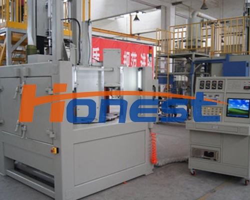 CNC 数控8分度齿轮喷丸机械设备